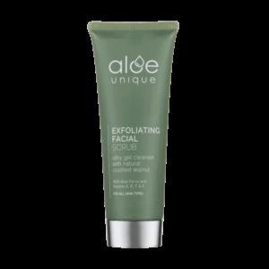 wellness-Aloe unique Exfoliating Facial Scrub 75ml