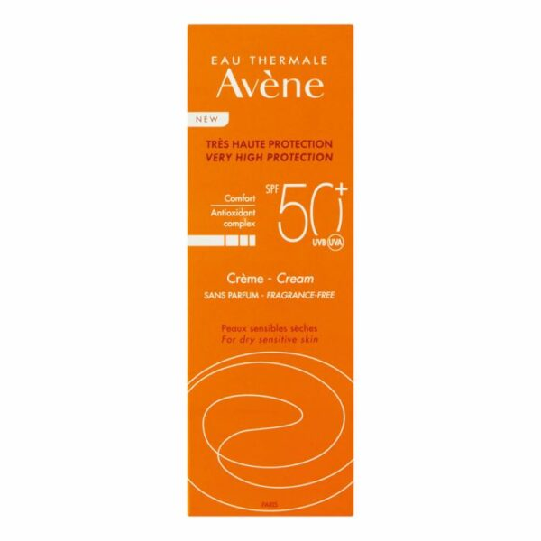 wellness-Avene Sun SPF50 Cream 50ml
